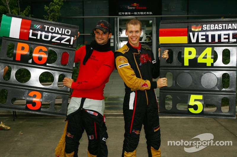 Takım, Scott Speed yerine Sebastian Vettel'i getirirken, İtalyan Liuzzi'nin takım arkadaşı oldu.