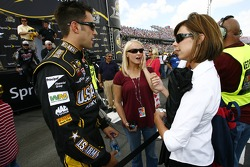 Aric Almirola and friends