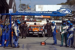 Dimanche, warm-up V8 Supercars