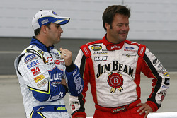 Robby Gordon and Jimmie Johnson