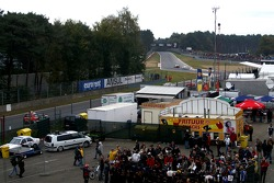 The first chicane