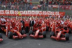 Scuderia Ferrari group shot