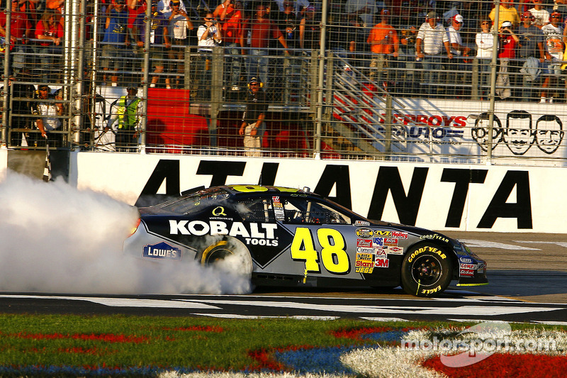 2007: Jimmie Johnson (Hendrick-Chevrolet) - 4 Siege