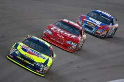 Kyle Busch leads Dale Earnhardt Jr. and Matt Kenseth