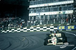 Thierry Boutsen sur une Williams-Renault