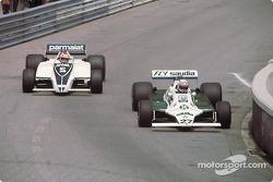Alan Jones y Nelson Piquet