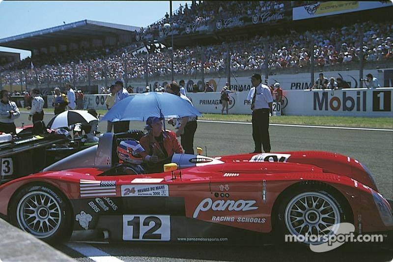 #12 Panoz LMP-1 Roadster S: Hiroki Katou, Johnny O'Connell, Pierre-Henri Raphanel