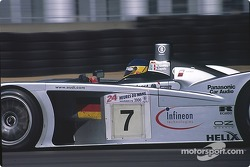#7  Team Joest Audi R8: Michele Alboreto, Christian Abt, Rinaldo Capello
