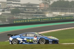 #99 JMB Racing Ferrari F430 GT: Ben Aucott, Philipp Peter, Rob Bell