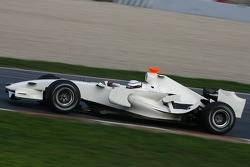 Andreas Zuber, Test Pilotu, Honda Racing F1 Team, RA107