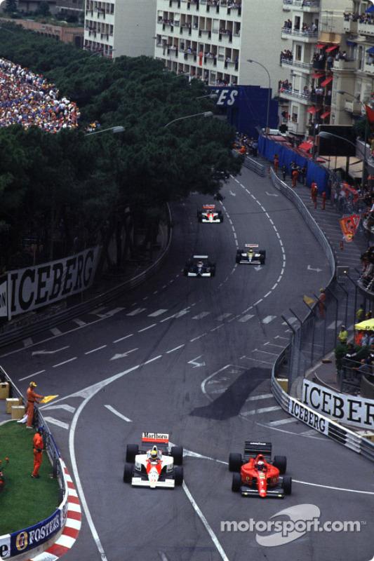 Ayrton Senna e Alain Prost