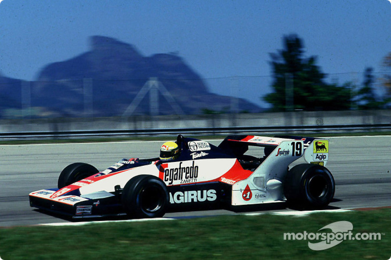 Ayrton Senna, Toleman Hart TG183B