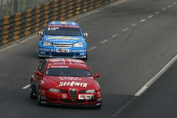 James Thompson, N Technology, Alfa Romeo 156; Nicola Larini, Team Chevrolet, Chevrolet Lacetti
