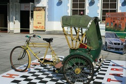 Pedicab Grand Prix equipment