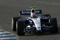 Kazuki Nakajima, Williams F1 Team on Slick tyres