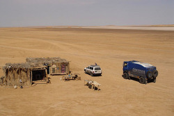 Team de Rooy in Tunisia: bivouac
