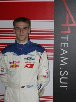 Alexandre Imperatori, driver of A1 Team Switzerland