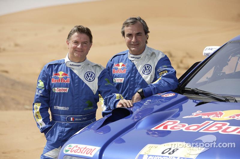 Volkswagen: Michel Perin y Carlos Sainz