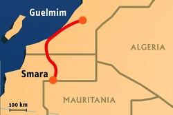 Stage 6: 2008-01-10, Guelmim to Smara