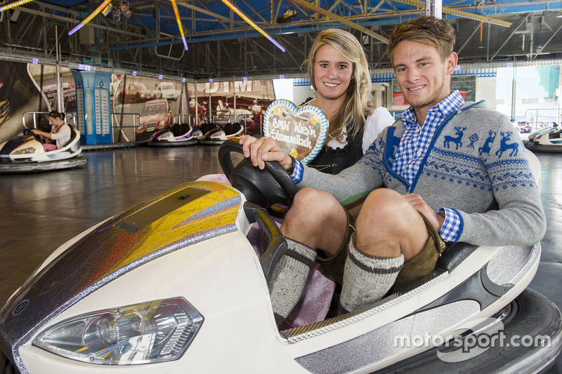 Марко Віттман та Natalie Geisenberger attend the BMW Wiesn Sport-Stammtisch 2015 at Oktoberfest