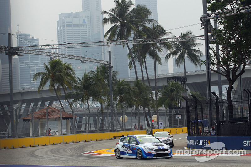 Kenneth Ma, Ford Focus ST, FRD Ford HK Racing Team