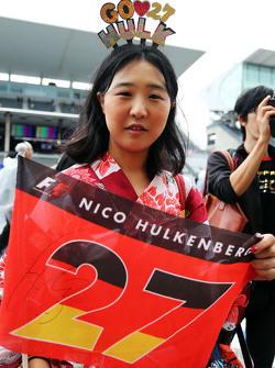 A Nico Hulkenberg, Sahara Force India F1 fan