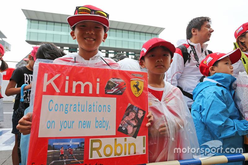 Fans von Kimi Räikkönen, Ferrari
