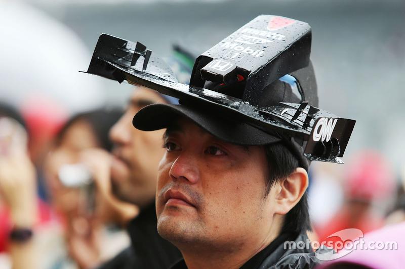 A McLaren Honda fan