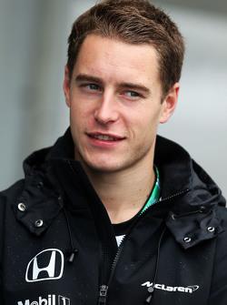 Stoffel Vandoorne, McLaren Piloto de pruebas y de reseva