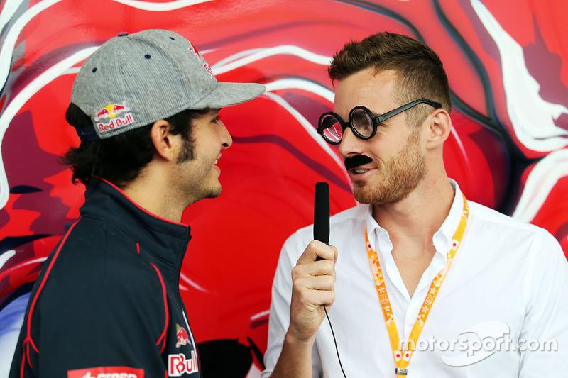 Карлос Сайнс мол., Scuderia Toro Rosso з James Rossiter