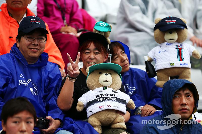 Mercedes AMG F1 та Williams фанати