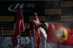 Друге місце Себастьян Феттель, Ferrari