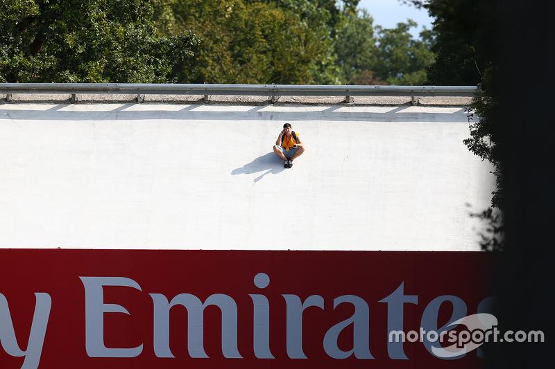 Steilkurven in Monza