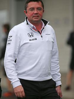 Эрик Булье, McLaren Racing Director