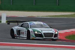 Audi R8 LMS-GT3 #7, Marco Mapelli, Andrea Amici, Audi Sport Team Italia