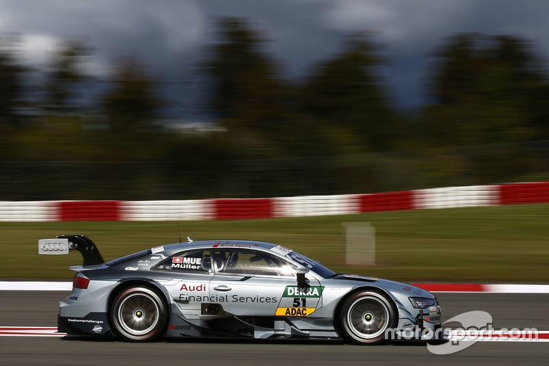 Ніко Мюллер, Audi Sport Team Rosberg Audi RS 5 DTM