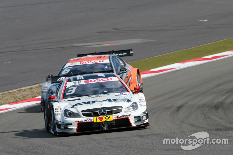 Paul di Resta, HWA AG, Mercedes AMG C-Coupé DTM