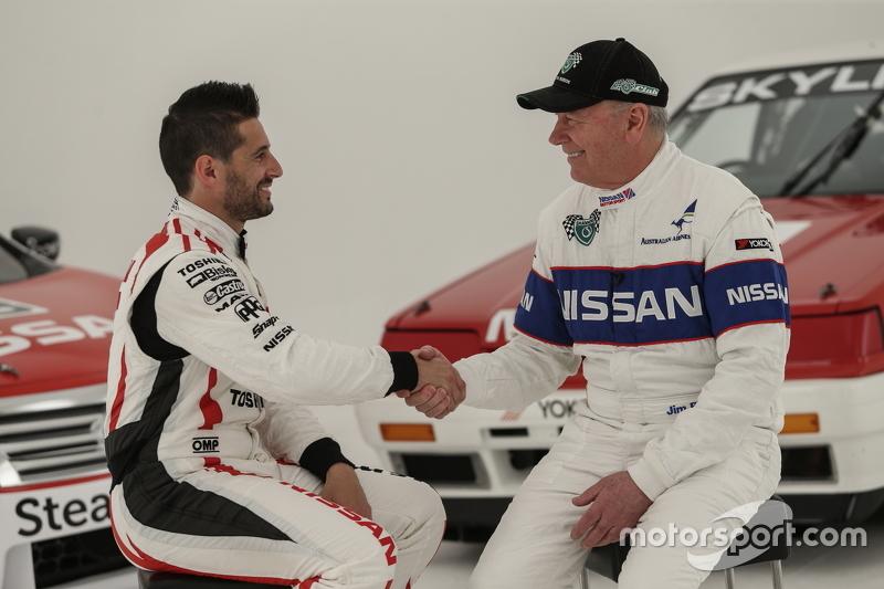 Майкл Карузо та Джим Річардс, Nissan Motorsports film a video spot