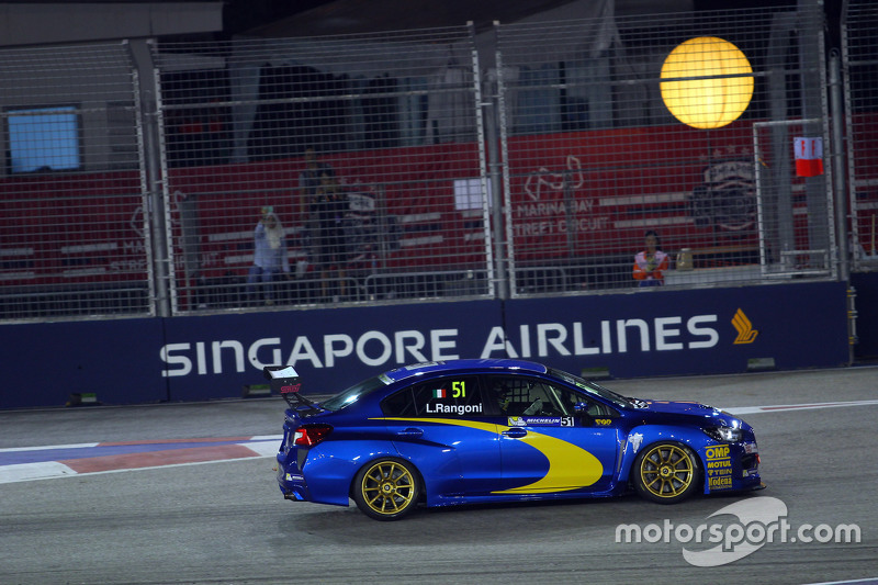 Luca Rangoni, Subaru WRX TCR, Top Run Motorsport