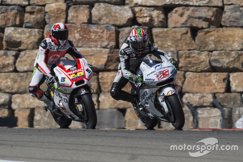 Yonny Hernández, Pramac Racing y Nicky Hayden Aspar MotoGp Team
