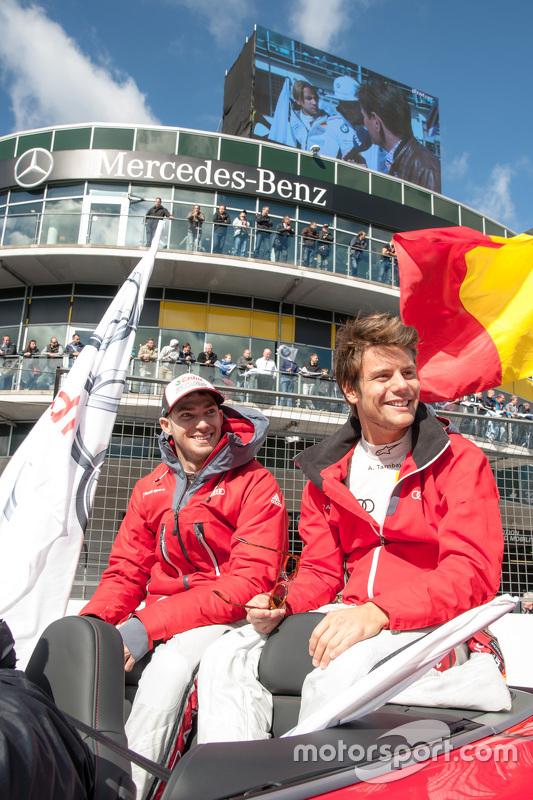 Edoardo Mortara, Audi Sport Team Abt, und Adrien Tambay, Audi Sport Team Abt Sportsline