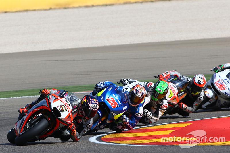 Штефан Брадль, Aprilia Racing Team Gresini та Маверік Віньялес, Team Suzuki MotoGP та Євген Леверті,