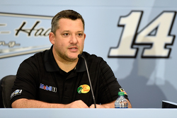 Tony Stewart, Stewart-Haas Racing, gibt seinen Rücktritt bekannt