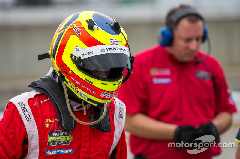 #62 Risi Competizione Ferrari F458: П'єр Каффер