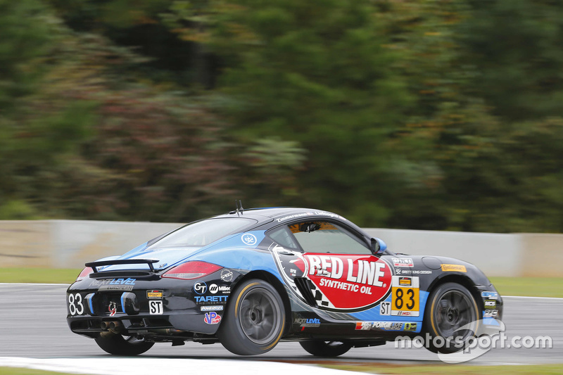 #83 Next Level European Porsche Cayman: Greg Liefooghe, Eric Zimmermann