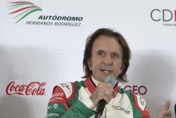 Emerson Fittipaldi, afgevaardigde GP van Mexico