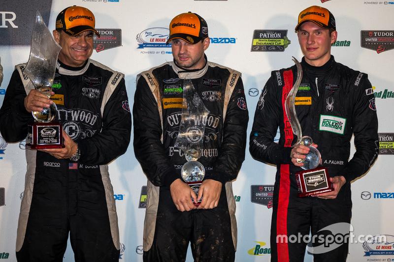 PC переможці #52 PR1 Mathiasen Motorsports Oreca FLM09: Майк Гуаш, Том Кімбер-Сміт, Ендрю Палмер