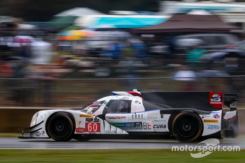 #60 Michael Shank Racing з Curb/Agajanian Ligier JS P2 Honda: Джон Пью, Освальдо Негрі Jr., Мет МакМ