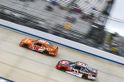 Даніель Суарез, Joe Gibbs Racing Toyota та Остін ДІллон, Річард Чілдресс Racing Chevrolet