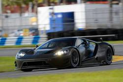 Test della Ford GT con il Team Chip Ganassi Racing